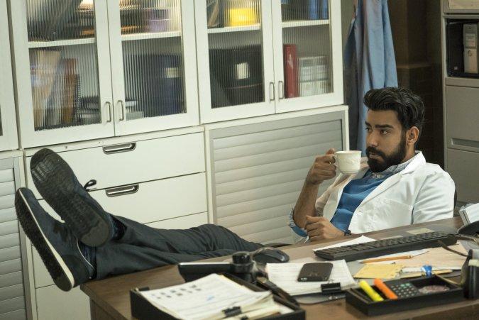 Ravi (Rahul Kohli) in iZombie season 3