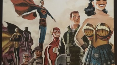 Justice League: The New Frontier Commemorative Edition steelbook cover