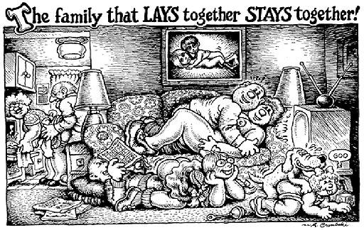 R. Crumb cartoon