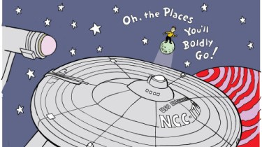 Oh, The Places You'll Boldly Go!
