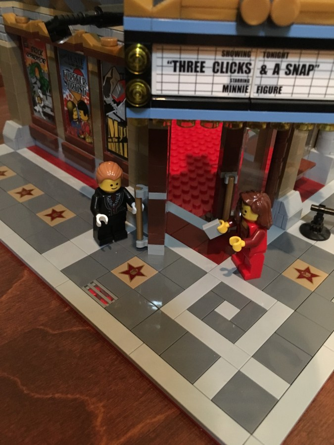 Lego Palace Cinema front door