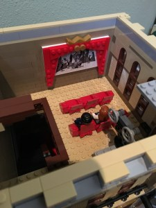 Lego Palace Cinema movie screen