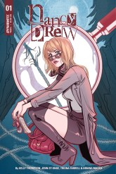 Nancy Drew #1 cover by Marguerite Sauvage