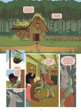 The Tea Dragon Society preview page by Katie O'Neill