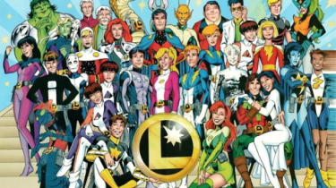 The Legion of Super-Heroes by Alan Davis and Mark Farmer