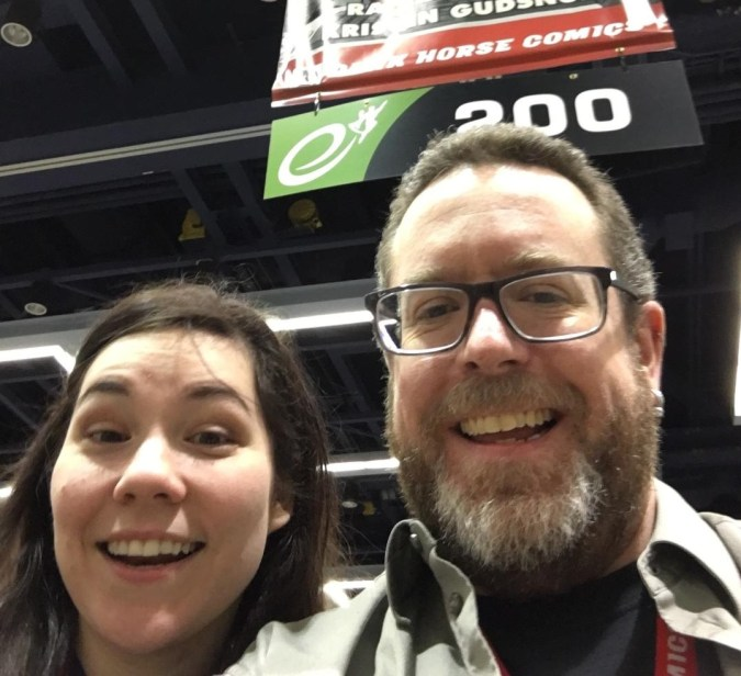 Kristen Gudsnuk and Rafer Roberts