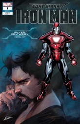 Silver Centurion Armor Variant Cover - Tony Stark Iron Man #1