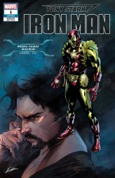 Iron Man 2020 Armor Variant Cover - Tony Stark Iron Man #1