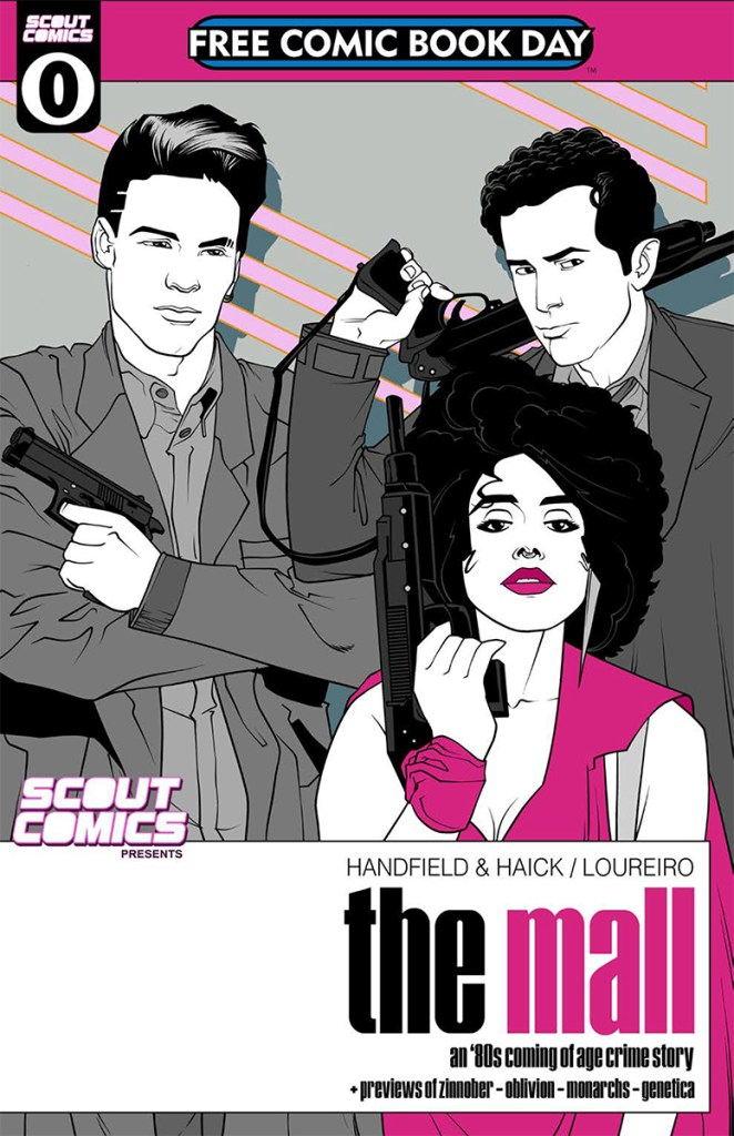 Scout Comics Presents the Mall