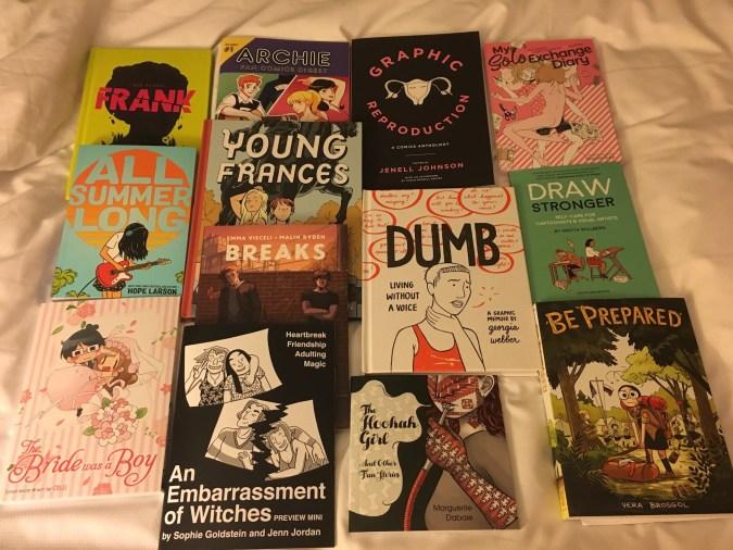 Books I got at TCAF 2018