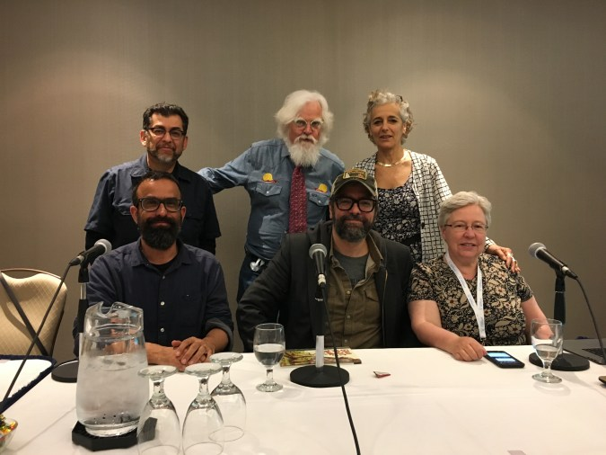 Toon Anniversary panel at TCAF 2018