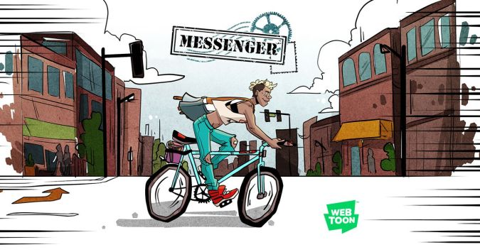Messenger on Line Webtoon