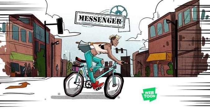 Messenger on Line Webtoon