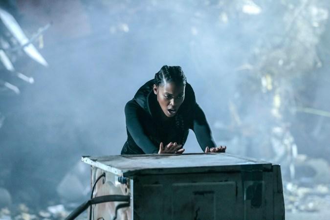 Anissa (Nafessa Williams) on Black Lightning
