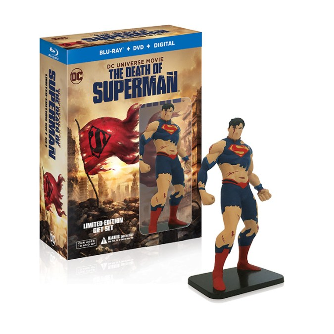 The Death of Superman Deluxe Gift Set
