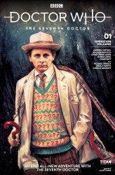 Doctor Who: The Seventh Doctor #1 cover by Alice X. Zhang