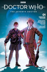 Doctor Who: The Seventh Doctor #1 cover by Christopher Jones