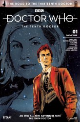 Doctor Who: The Road to the Thirteenth Doctor #1 cover by Robert Hack