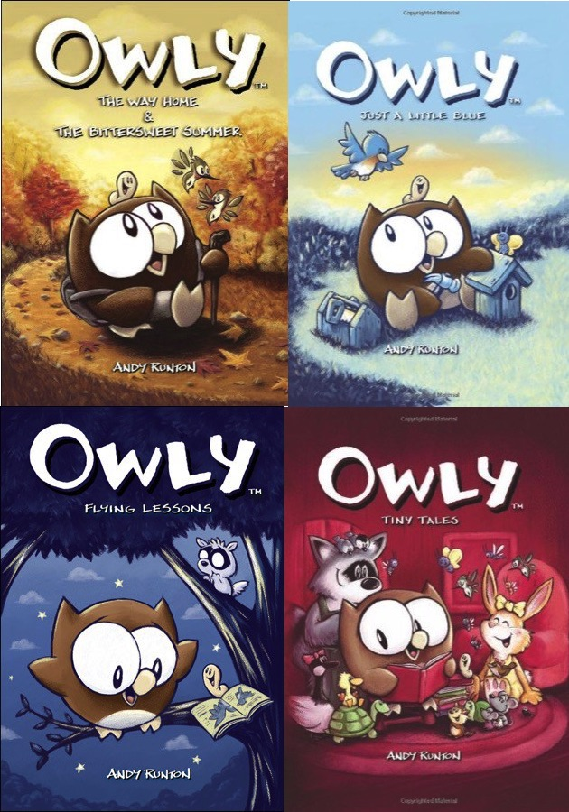 Owly book covers