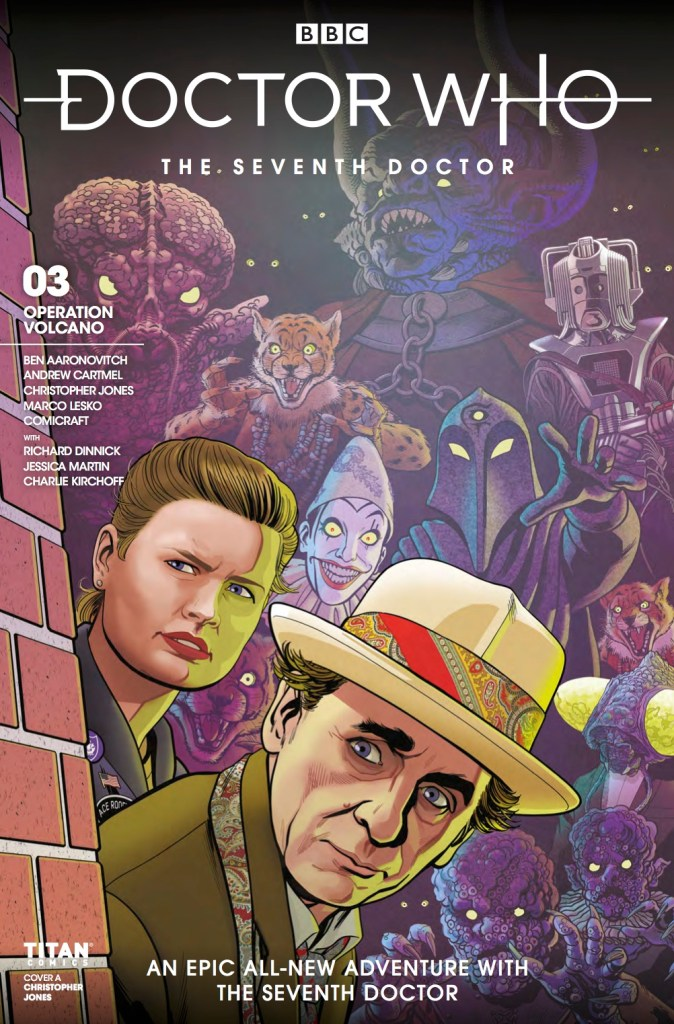 Doctor Who: The Seventh Doctor #3 cover by Christopher Jones