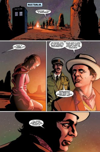 Doctor Who: The Seventh Doctor #3 preview page