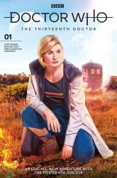 Doctor Who: The Thirteenth Doctor #1 photo cover