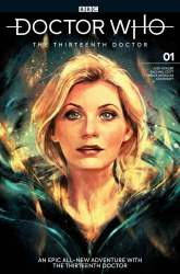 Doctor Who: The Thirteenth Doctor #1 cover by Alice X. Zhang