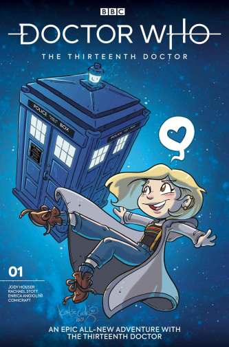 Doctor Who: The Thirteenth Doctor #1 cover by Katie Cook