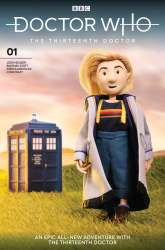 Doctor Who: The Thirteenth Doctor #1 puppet cover