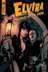 Elvira: Mistress of the Dark #2 cover by Craig Cermak