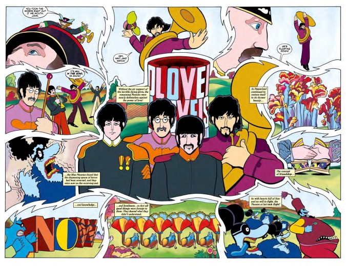 The Beatles: Yellow Submarine preview page 5