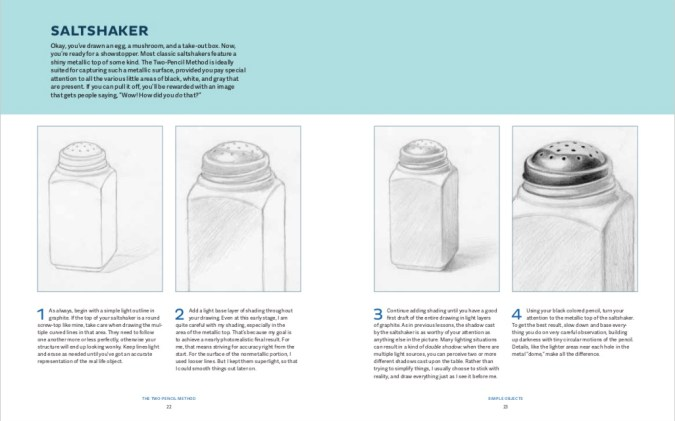 Drawing lesson from The Two-Pencil Method by Mark Crilley