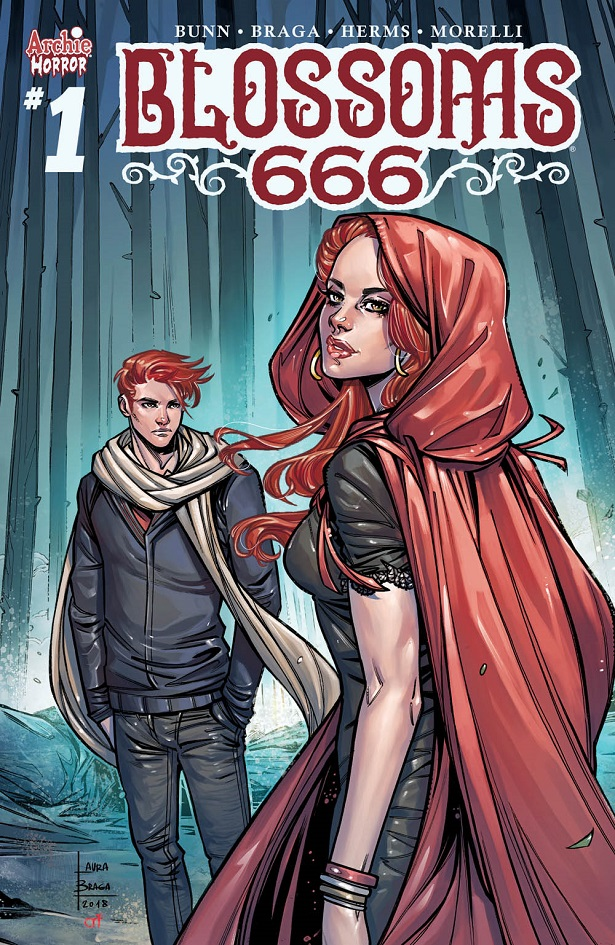 Blossoms 666 cover by Laura Braga
