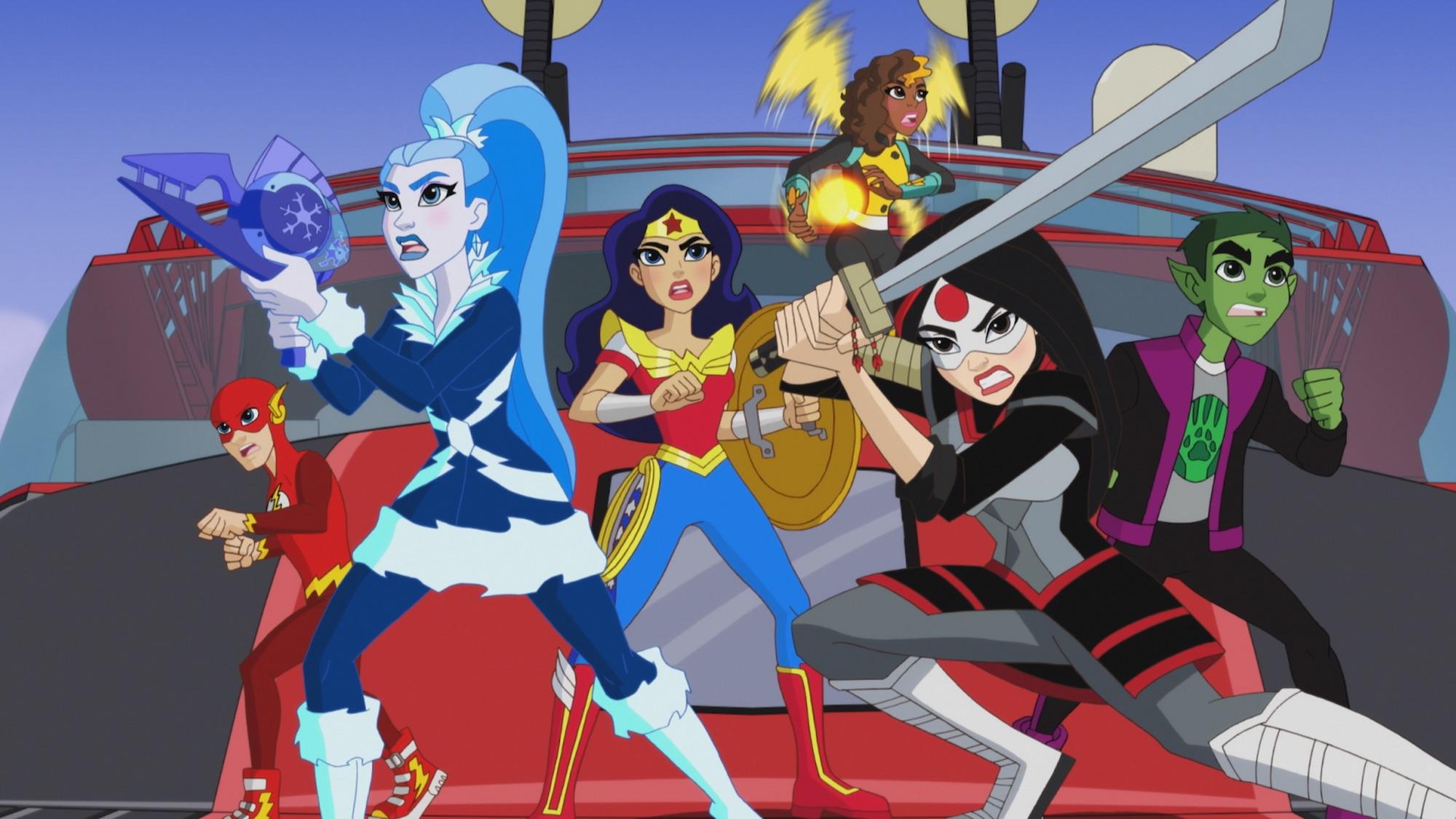 dc super hero girls legends of atlantis
