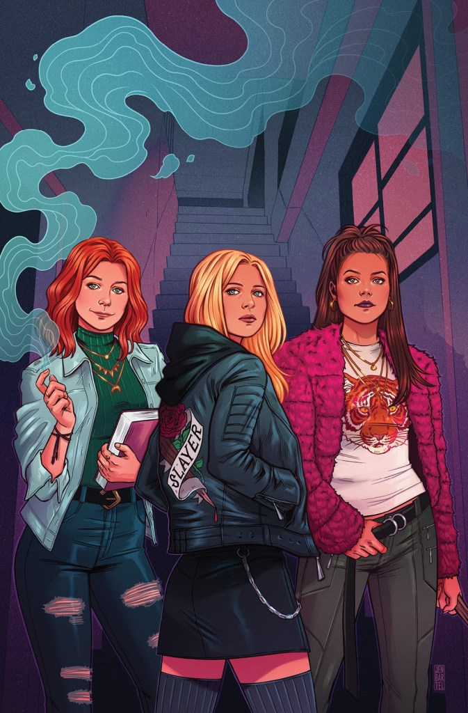 Buffy the Vampire Slayer #1 variant cover by Jen Bartel