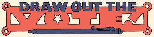 Draw Out the Vote Oni Press logo