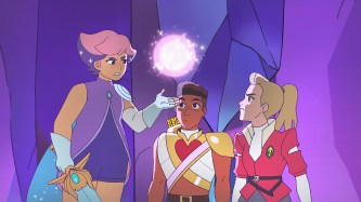She-Ra - Glimmer, Bow and Adora