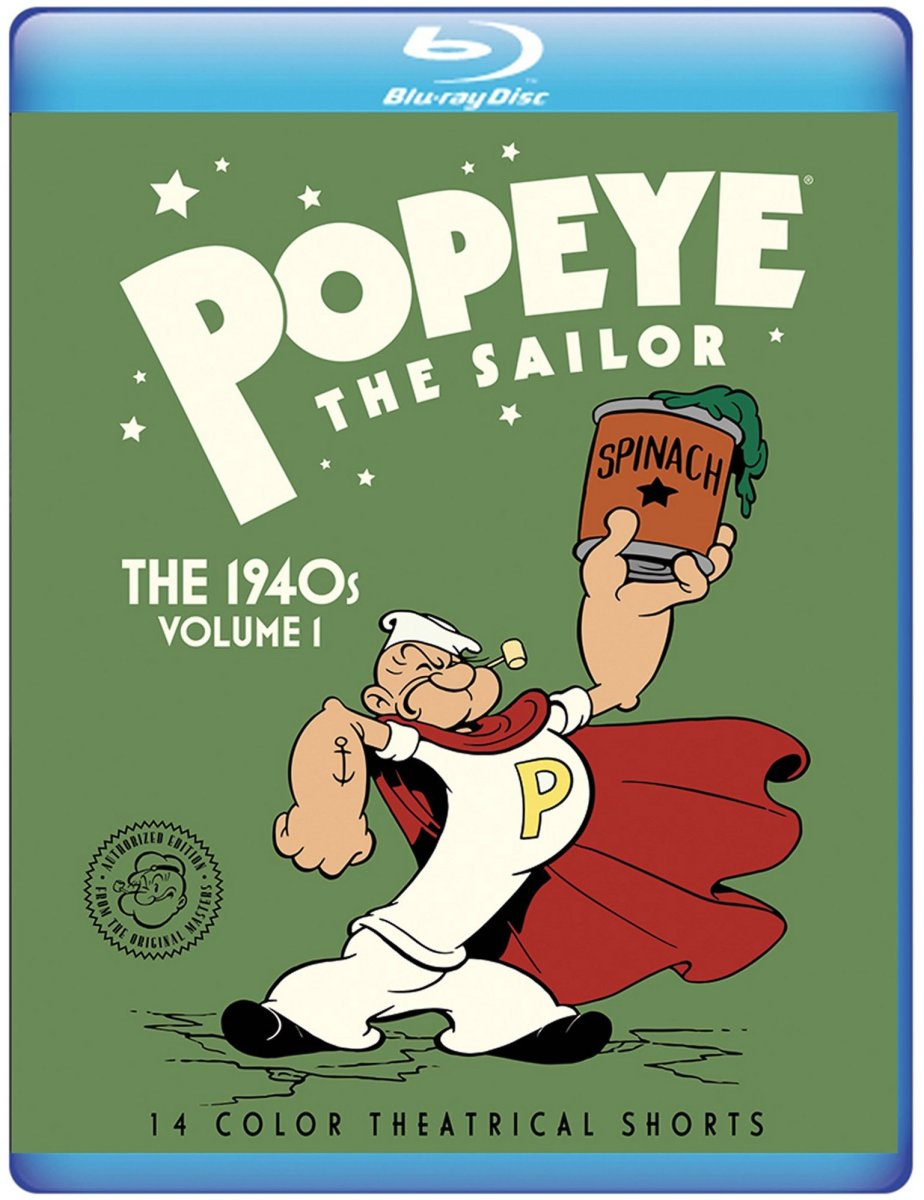 Popeye Cartoons Coming From Warner Archive