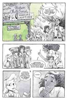 Lumberjanes: The Infernal Compass preview page 5