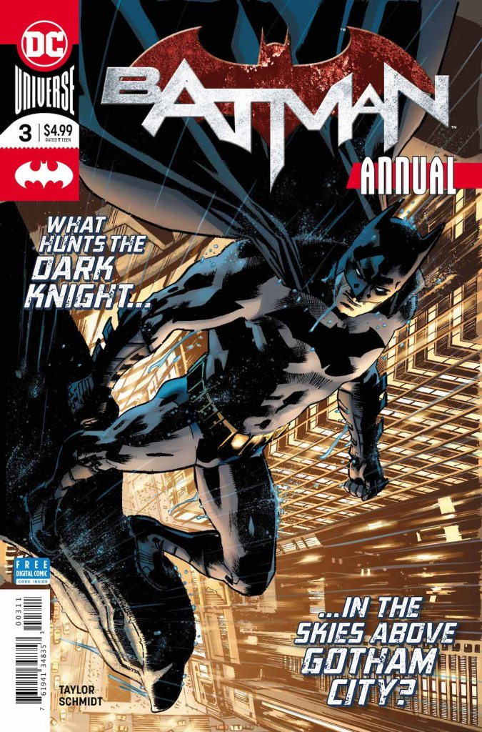 Batman Annual #3 cover by Bryan Hitch & Alex Sinclair
