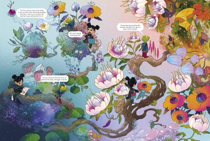 Hicotea: A Nightlights Story preview page by Lorena Alvarez