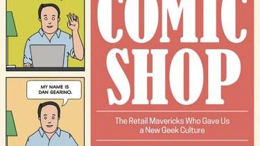 Comic Shop header