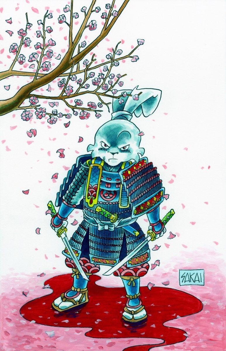 Usagi Yojimbo Leaves Dark Horse