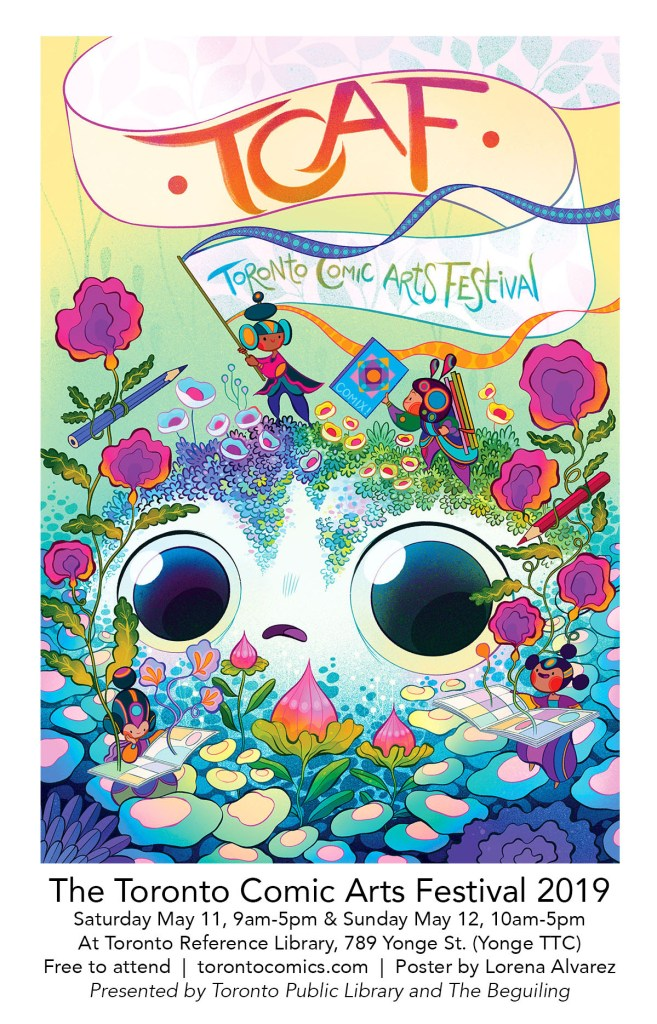 TCAF 2019 poster by Lorena Alvarez