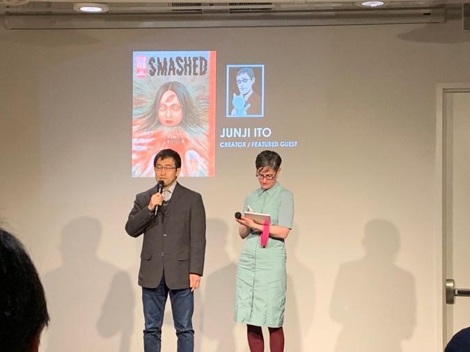 Junji Ito at TCAF 2019