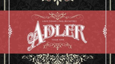 Adler #1 Victorian homage cover