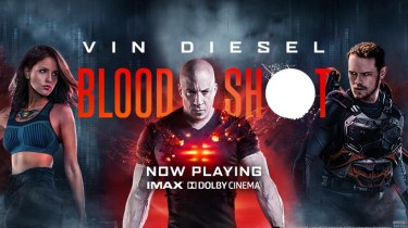Bloodshot movie promo art