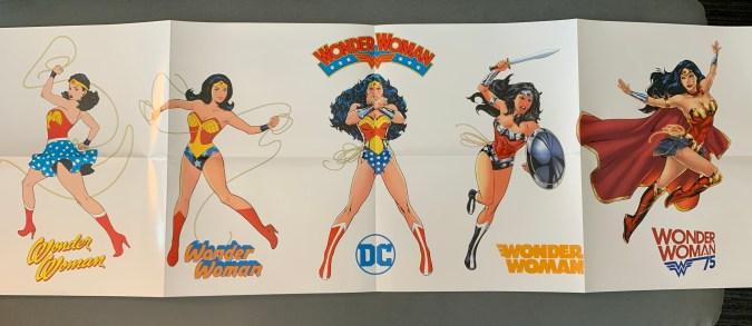 Wonder Woman giveaway poster