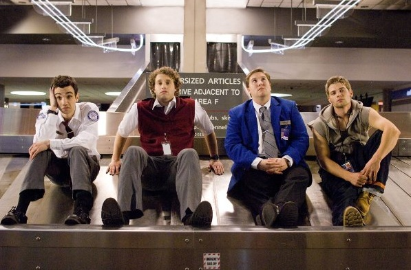 Jay Baruchel, T.J. Miller, Nate Torrence, Mike Vogel in She's Out of My League