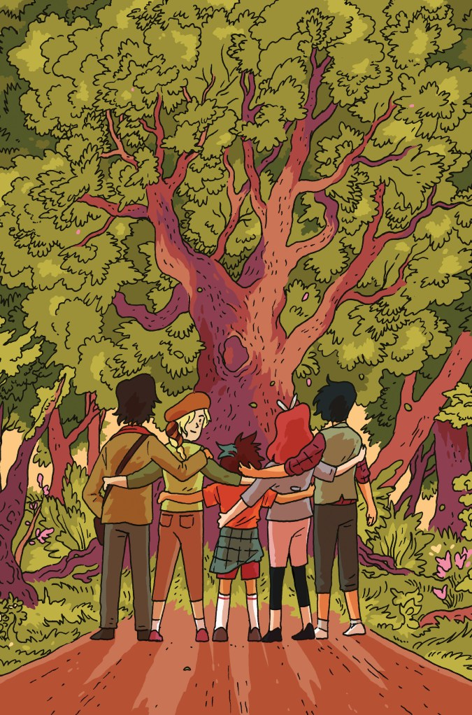Lumberjanes: End of Summer #1 cover C by Tillie Walden
